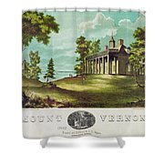 Mount Vernon, 1859 Shower Curtain