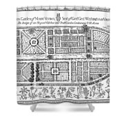 Mount Vernon: Garden Shower Curtain