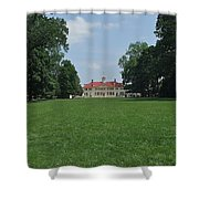 Mount Vernon In May Shower Curtain