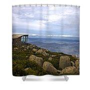 Mount Wellington Tasmania Shower Curtain
