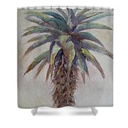 Mountain Aloe Shower Curtain