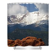 Mountain Clouds Shower Curtain