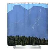 Mountain Contrasts Shower Curtain