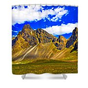 Mountain Crags Shower Curtain