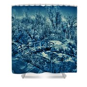 Mountain Creek Path-sundance Utah V2 Shower Curtain