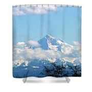 Mountain Fluff Shower Curtain