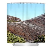 Mountain Frost Shower Curtain