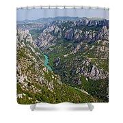 Mountain Gorge Shower Curtain