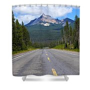 Mountain Highway Shower Curtain