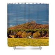 Mountain In North Carolina Shower Curtain