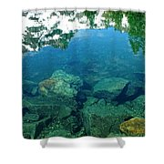Mountain Lagoon Shower Curtain