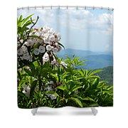 Mountain Laurel Shower Curtain
