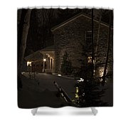 Mountain Lodge Shower Curtain