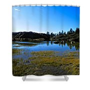 Mountain Marshes 2 Shower Curtain