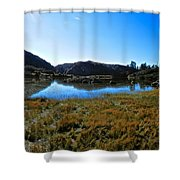 Mountain Marshes 3 Shower Curtain