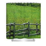Mountain Meadow New York Hwy 30 Shower Curtain