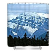 Mountain Meets The Sky Shower Curtain