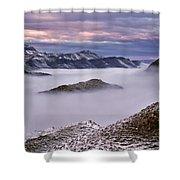 Mountain Moods Shower Curtain