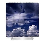 Mountain Of Clouds Shower Curtain