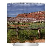 Mountain Of Color Shower Curtain
