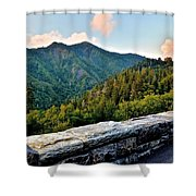 Mountain Overlook Shower Curtain