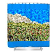 Mountain Park Shower Curtain