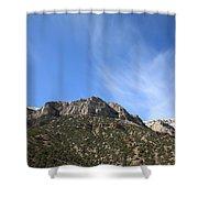 Mountain Range - Wyoming Shower Curtain