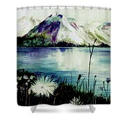 Mountain Serenity Shower Curtain