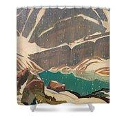 Mountain Solitude Shower Curtain