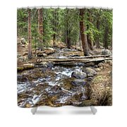 Colorado Mountain Stream 2 Shower Curtain