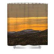 Mountain Sunrise 6-19-14 Shower Curtain