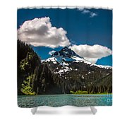 Mountain View Shower Curtain by Robert Bales