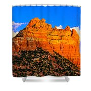 Mountain View Sedona Arizona Shower Curtain
