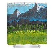 Mountain Vista Shower Curtain