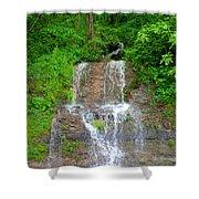 Mountain Waterfall II Shower Curtain