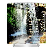 Mountain Waters Shower Curtain