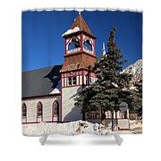 Mountain Worship Shower Curtain
