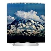Mountainpuffs Shower Curtain