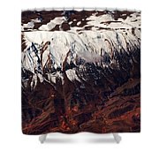 Mountains. Aerial. Beauty Of Our Planet Shower Curtain