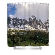 Mountains And Valleys Shower Curtain