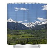 Mountains Co Grouse - New York 2 Shower Curtain