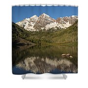 Mountains Co Maroon Bells 7 Shower Curtain