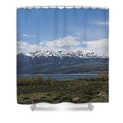 Mountains Co Mt Elbert 1 Shower Curtain