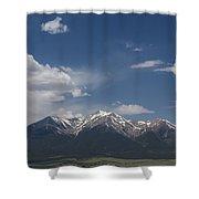 Mountains Co Mt Princeton 1 Shower Curtain