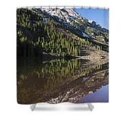 Mountains Co Pyramid 1 Shower Curtain