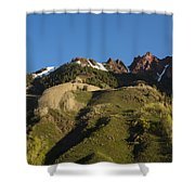 Mountains Co Sievers 1 Shower Curtain