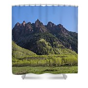 Mountains Co Sievers 2 A Shower Curtain