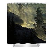 Mountains Dreams Shower Curtain
