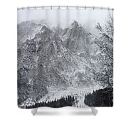 Mountains Of Austria Shower Curtain