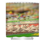 Mountains Of The Mind Shower Curtain